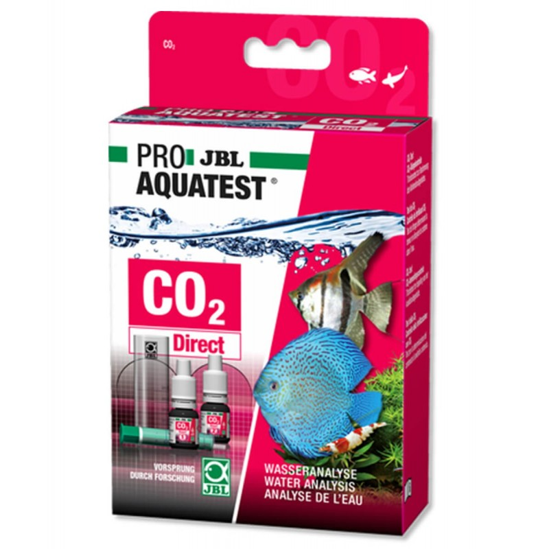 JBL Proaquatest Test CO2 Direct rapido per co2 e PH per acquario acqua dolce