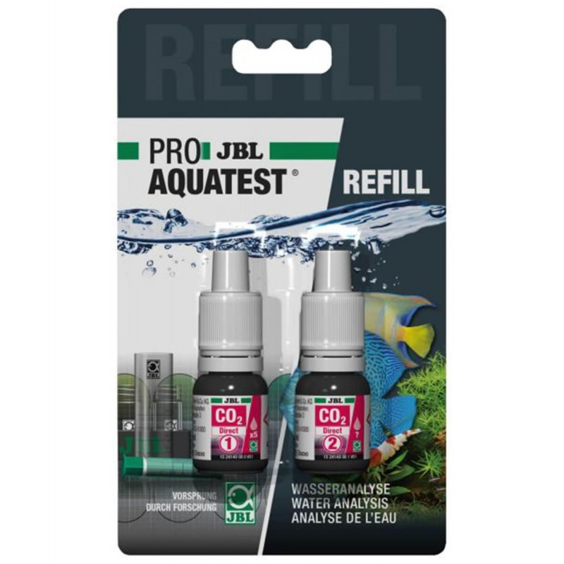 JBL Proaquatest ricarica CO2 Direct per acquario refill