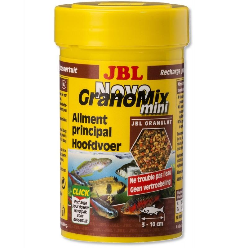 JBL Novo GranoColor Ricarica Mini 100 ml Esalta i colori di tutti i pesci d'acquario