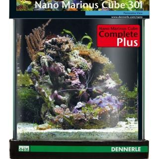 Dennerle 5614 NANO Marinus Cube 30 Complete Plus set completo per allestimento di un nano acquario marino di 30 litri