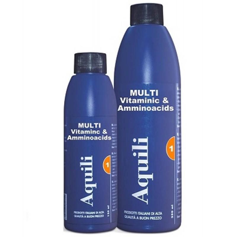 Aquili Multivitaminico con Aminoacidi per acquario