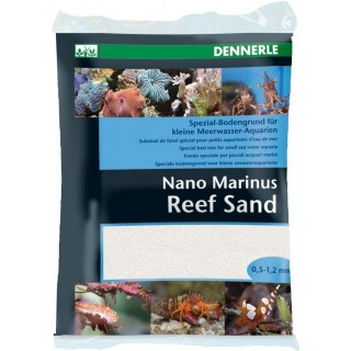 Dennerle 5624 Nano Marinus Reef Sand 2kg fondo speciale per acquari marini