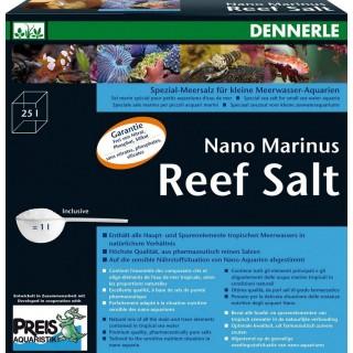 Dennerle 5625 Reef Salt Sale 1 kg per Nano Acquari