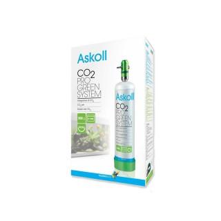 Askoll CO2 Pro Green System con Bombola non Ricaricabile da 500gr per Acquari confezione