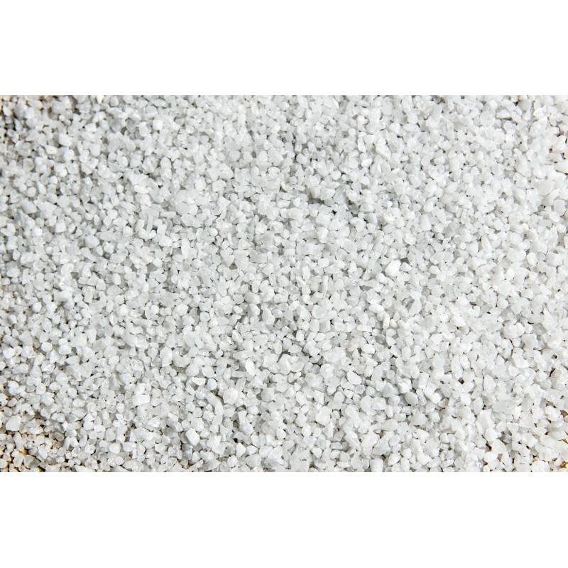 Ghiaia Quarzo Bianco 5 kg 1/1.2 mm