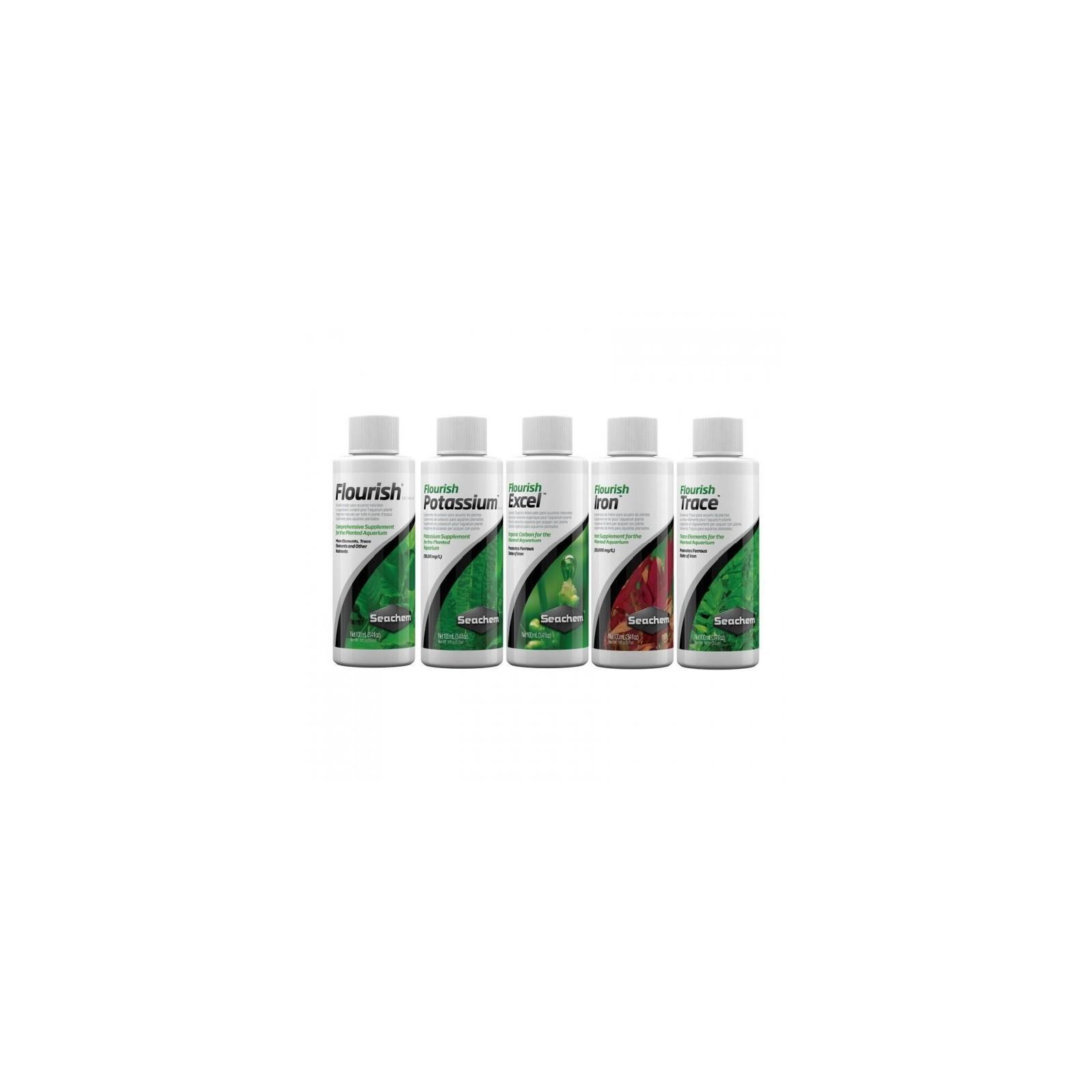 Seachem Fertilizzante Protocollo base da 100 ml Flourish