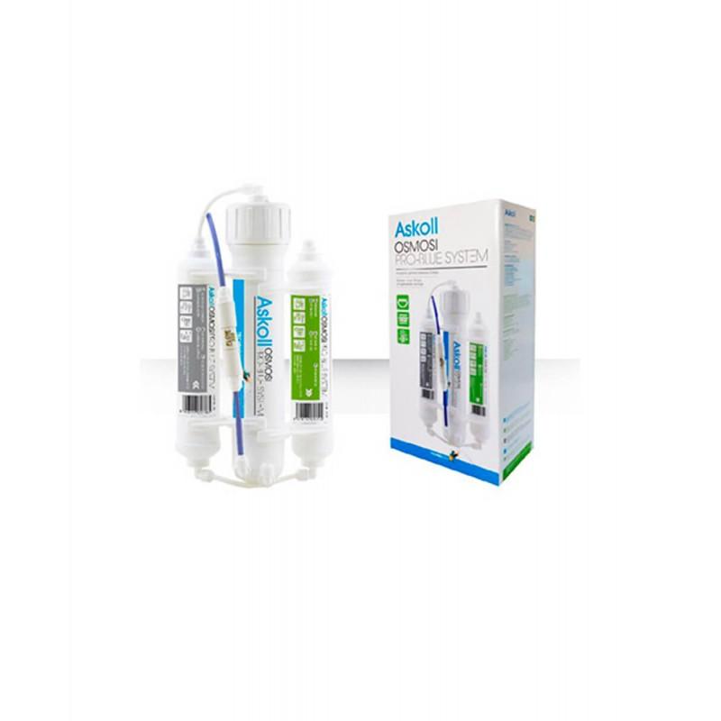 Askoll impianto ad osmosi con 3 stadi Pro Blue System da 190 litri al giorno