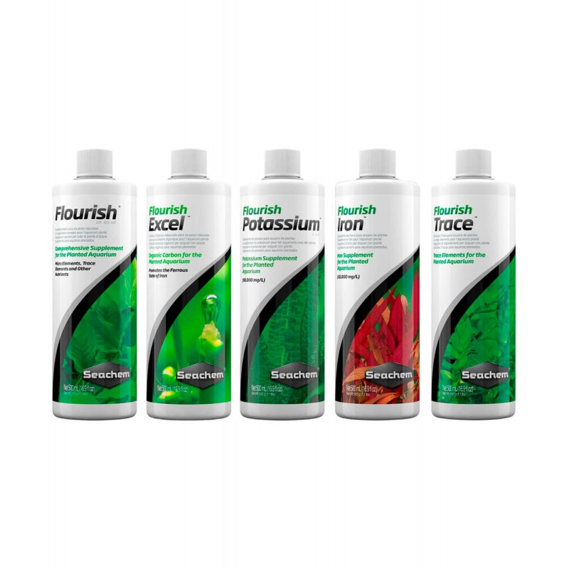 Seachem Fertilizzante Protocollo base da 500 ml Flourish