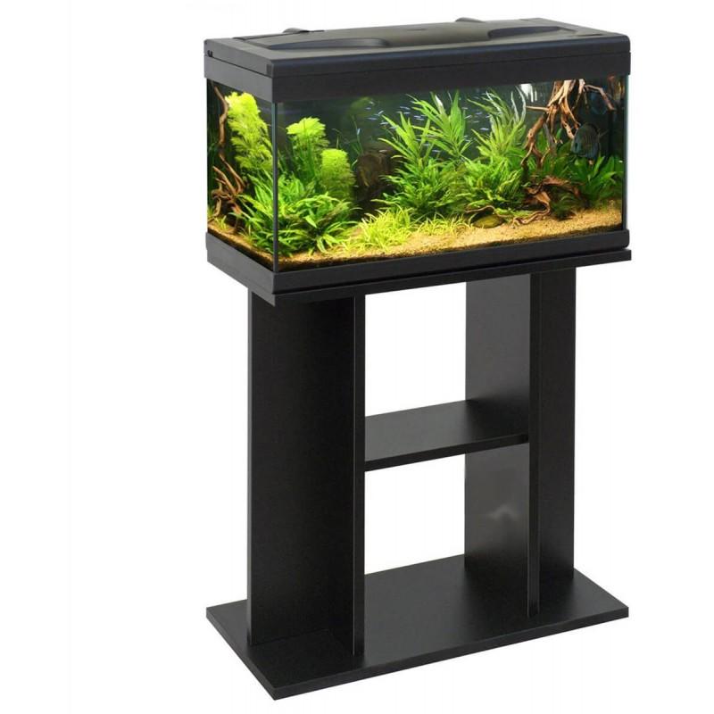 MTB Acquari Aloha 60 LED acquario con tavolino accessoriato 57 lt Nero